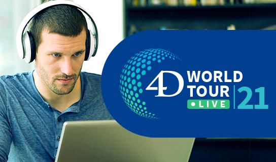 4D World Tour Live Training