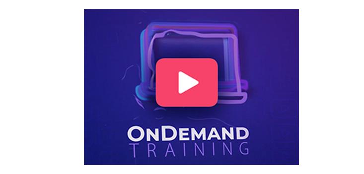 オンデマンド・トレーニング: 新しい学習方法!